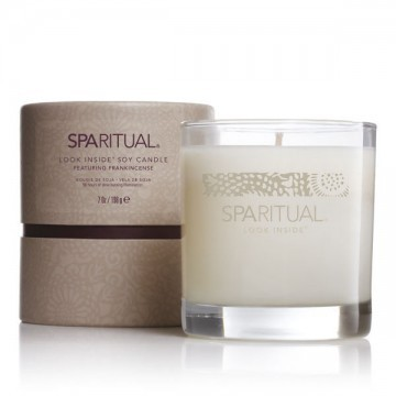 sparitual look inside soy candle
