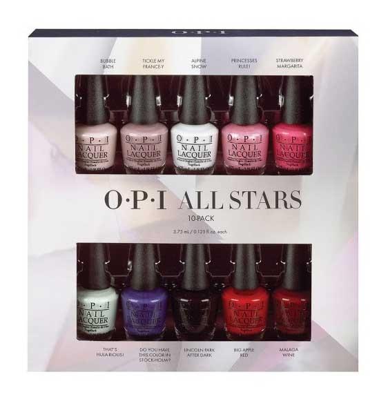 Nail Colors - OPI Nail Polish All Stars Mini | Top Brands | Tofembeauty