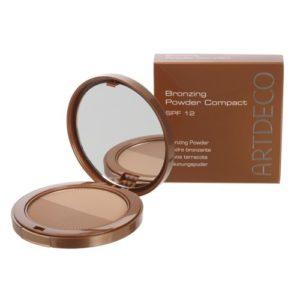artdeco bronzing powder compact spf 12
