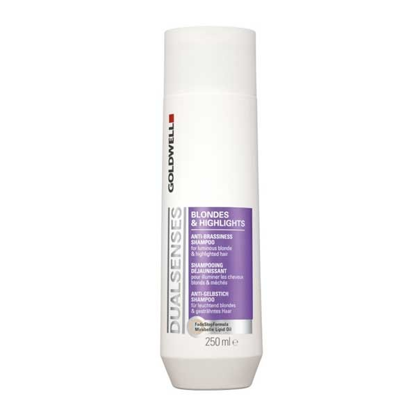 goldwell dualsenses blondes & highlights anti-brassiness