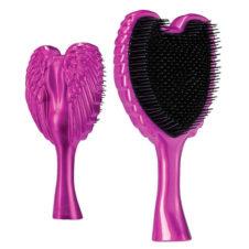 tangle angel fab fuchsia hair brush