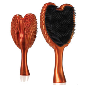 tangle angel omg orange hair brush