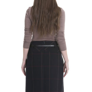 guzella plaid skirt