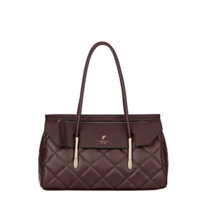 fiorelli carlton east west shoulder aubergine handbag