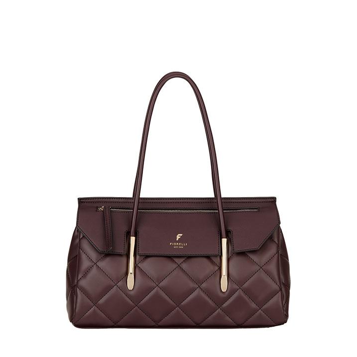 Fiorelli Carlton East West Shoulder Aubergine Handbag
