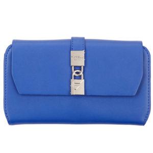 fiorelli evie blue large flapover purses