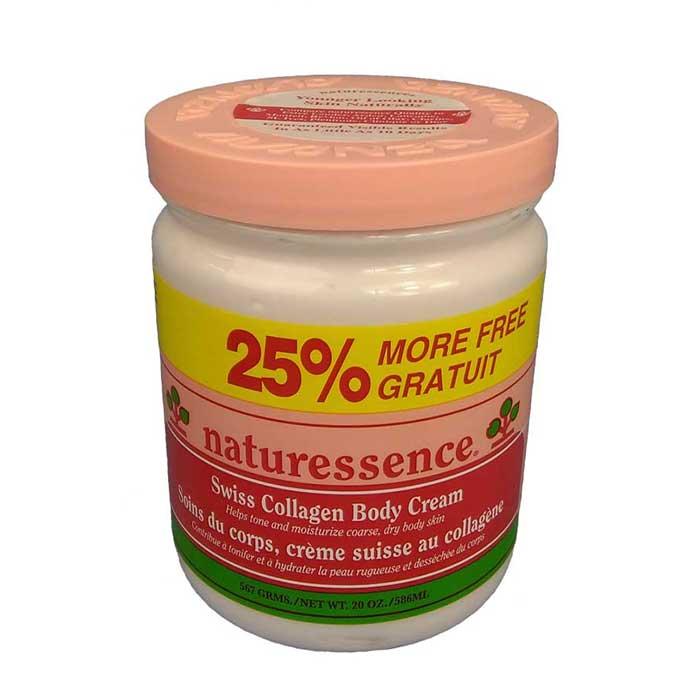 Naturessence Swiss Collagen Body Cream – 586ml