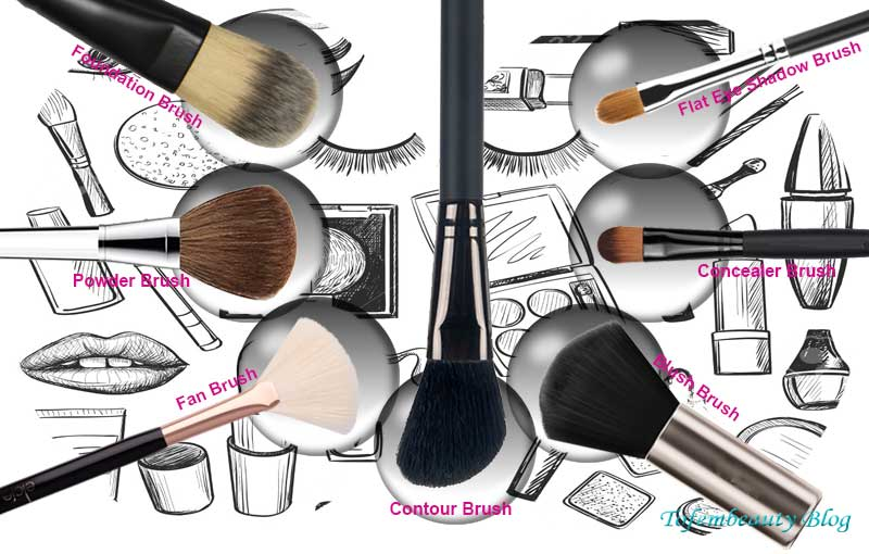 A Comprehensive Makeup Brush Guide for Making You A Pro 2
