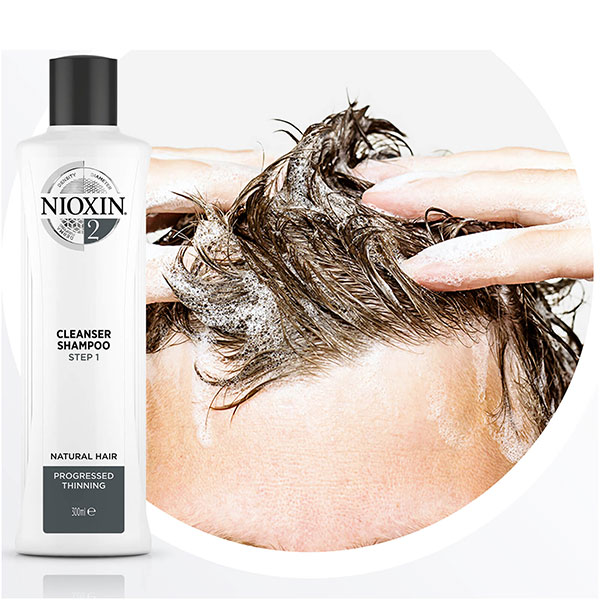 NIOXIN 3 Part System 2 Trial Kit for Natural Hair